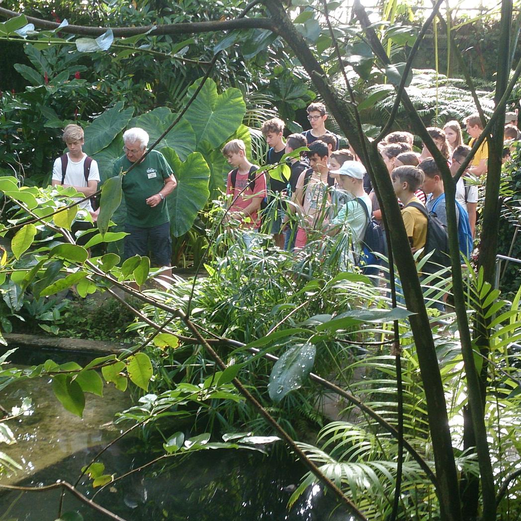 Blog - 201819 Besuch botanischer Garten Bild 1