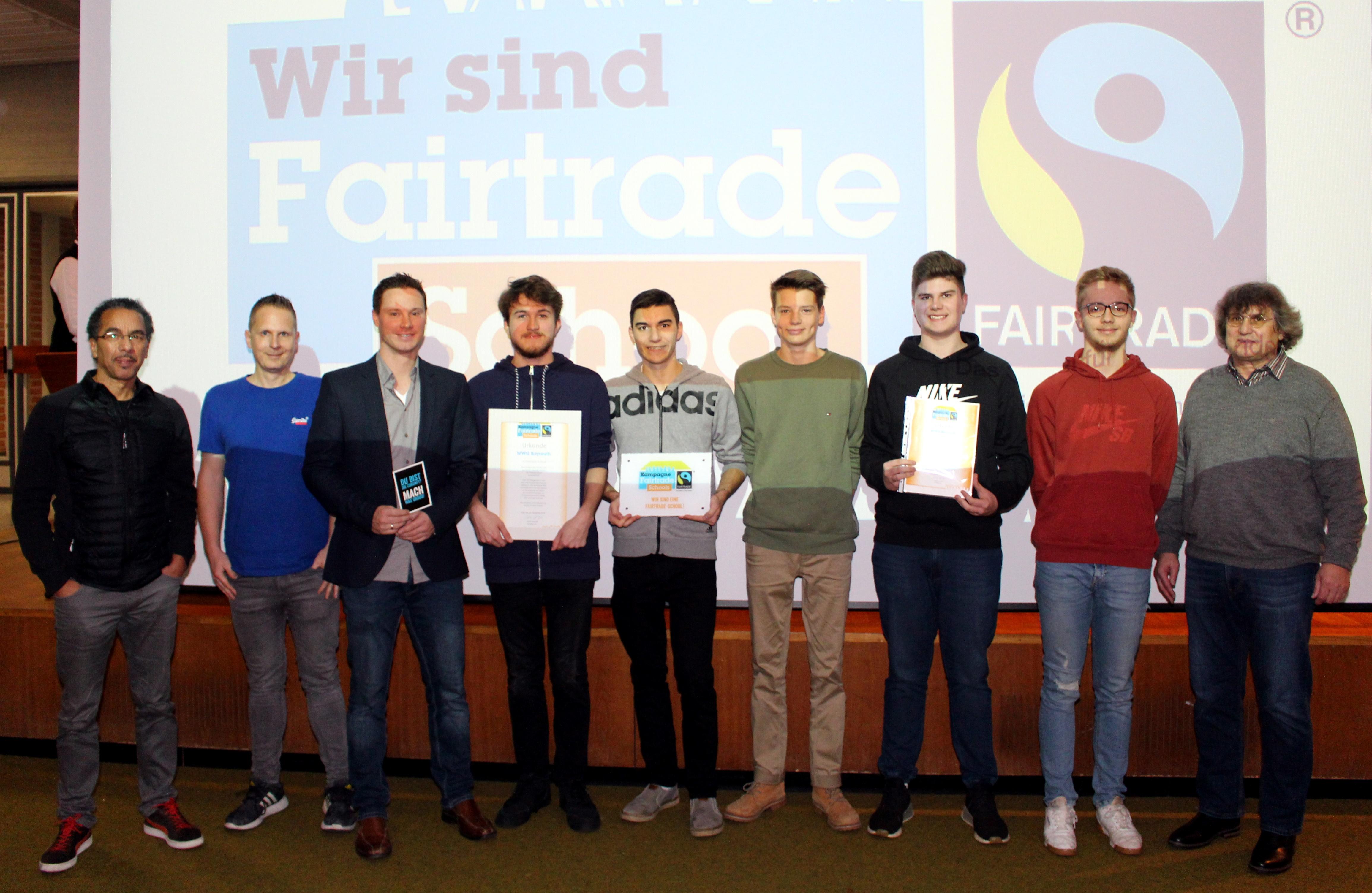 Blog - 201819 Fair Trade Schule Verleihungsfeier Bild 2