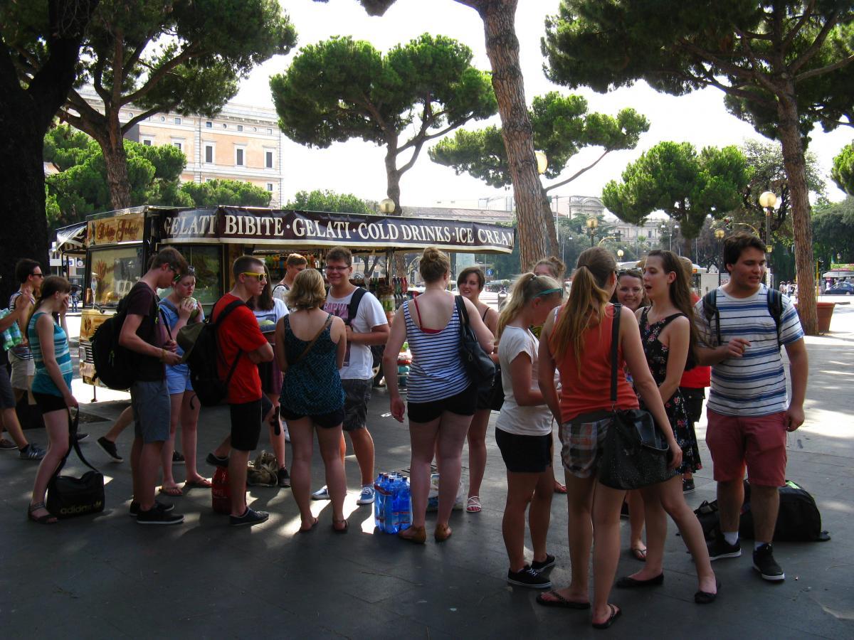 Fahrtenkonzept - Studienfahrt Rom Bild 1