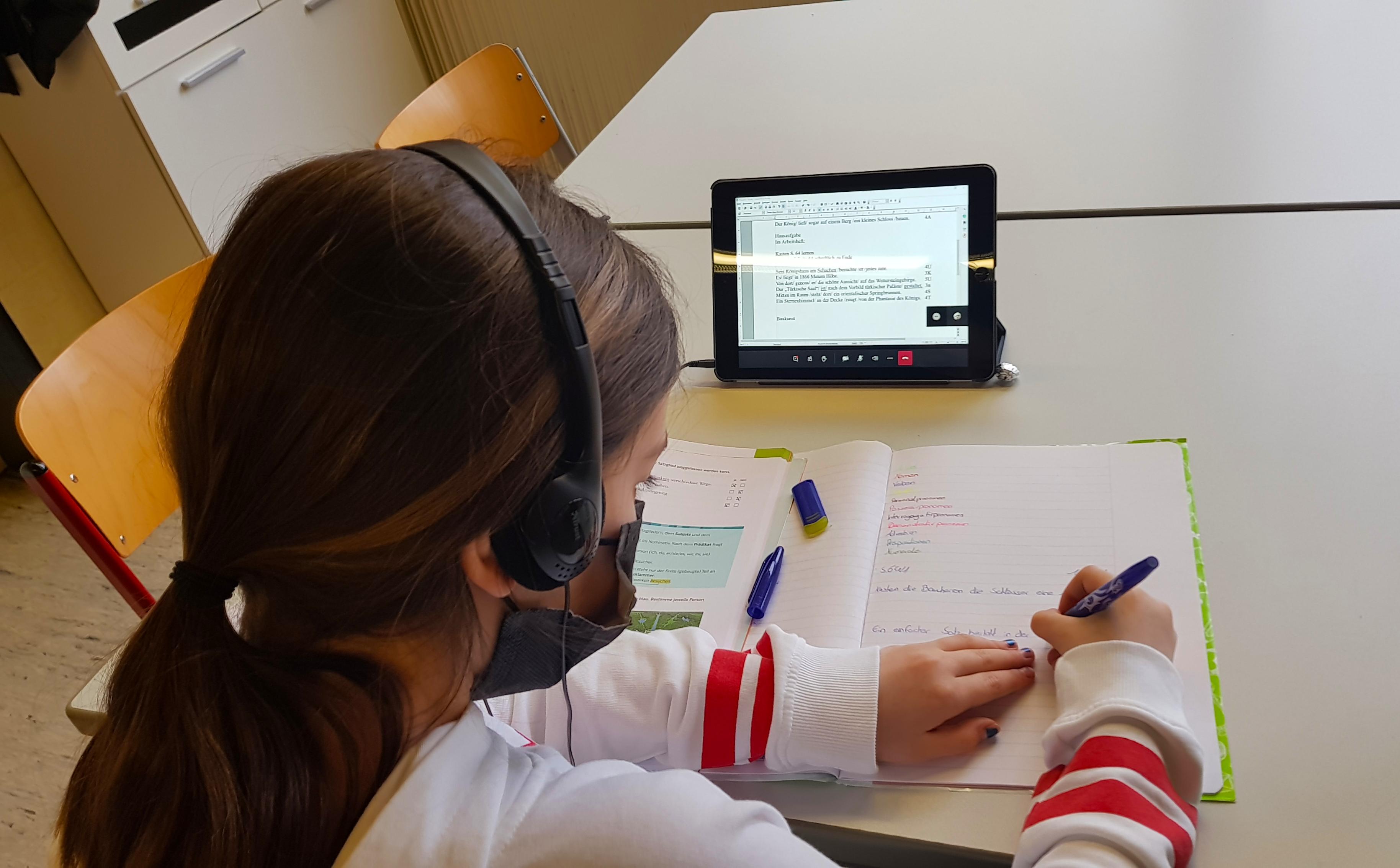 Streaming in der OGS während des Distanzunterrichts