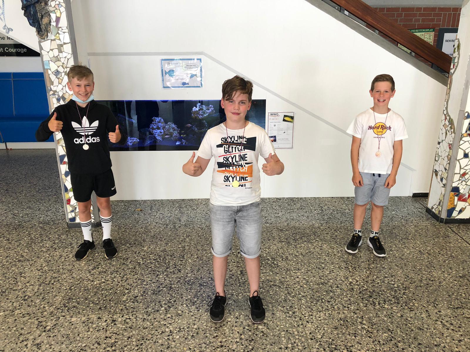 Die Sieger unseres OGS-Tischtennis-Cups der 5. Klassen