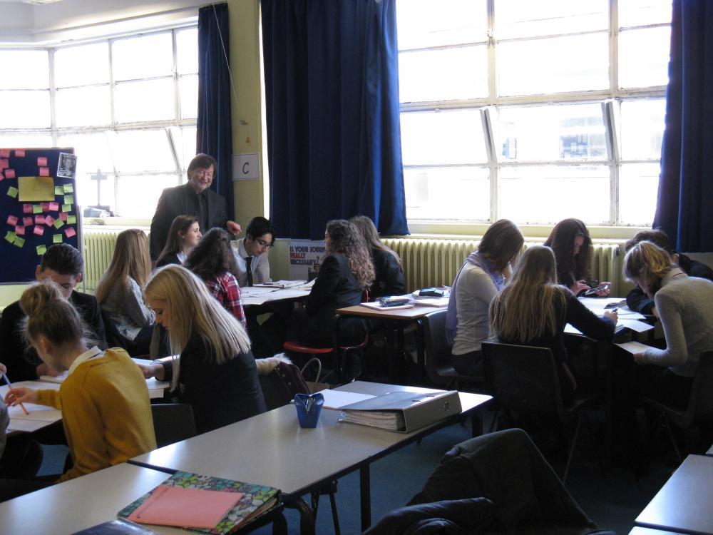 Schulprofil - Schüleraustausch England Bild 6